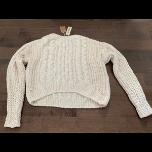 Garage Chenille Crew Neck Sweater